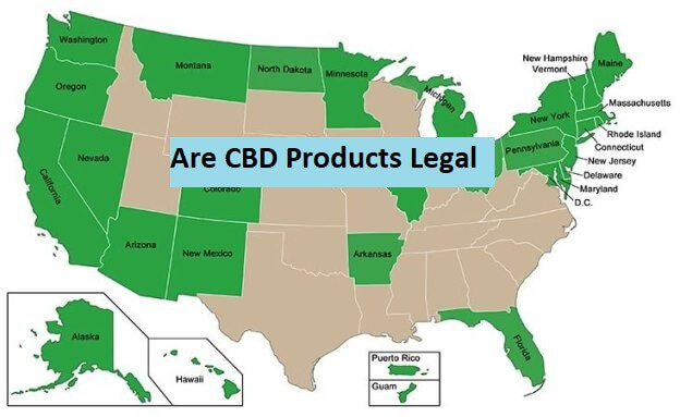Are CBD Products Legal